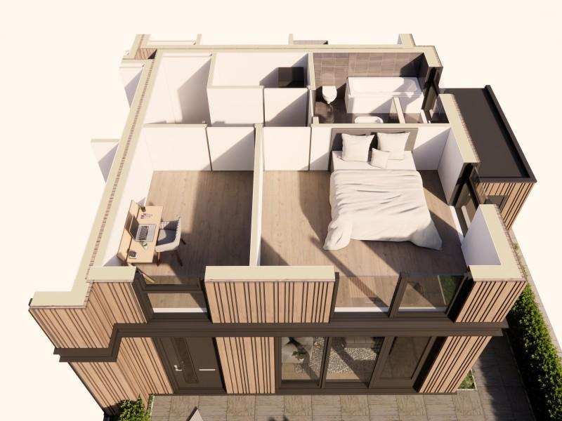 20210202 optie 2 slaapkamers